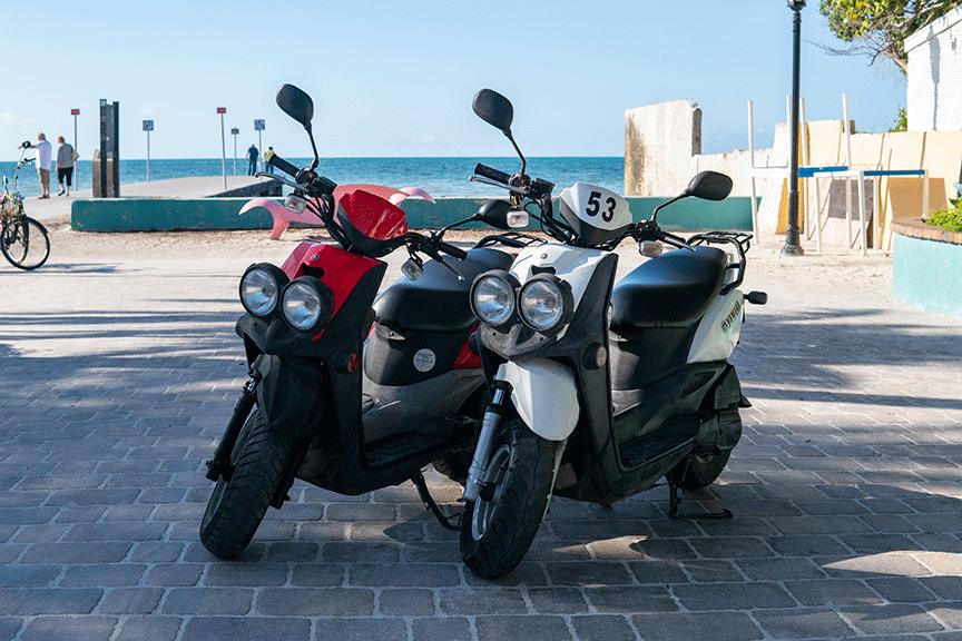 Yamaha Scooter Double-Blue Sky Rentals-Key West, Florida