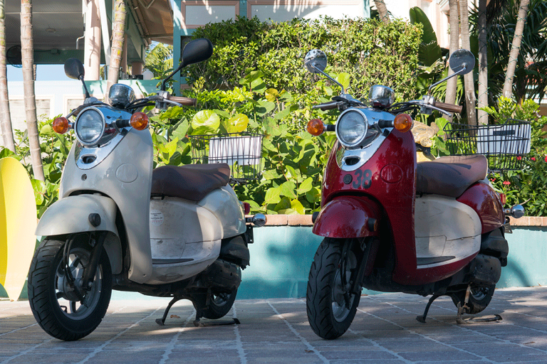 Scooter Single-Blue Sky Rentals Key West